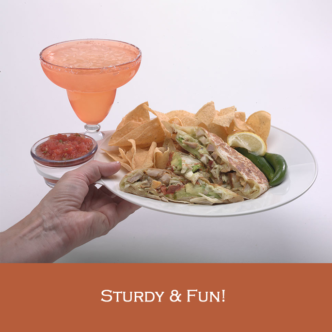 Enjoy a great Mexican meal, complete with salsa and Margarita