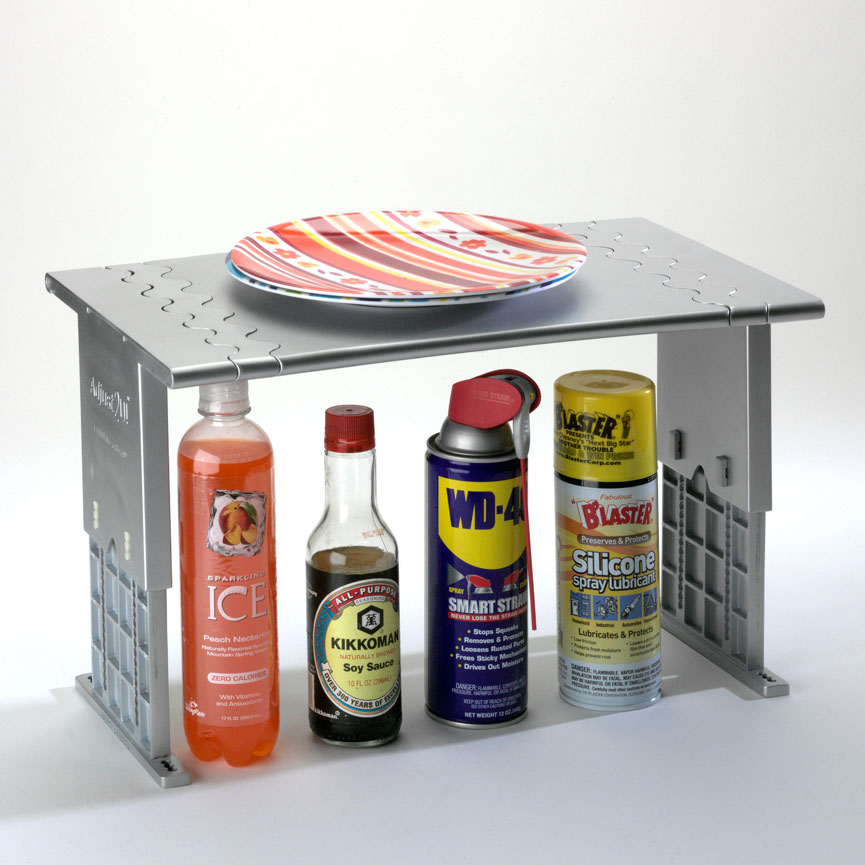 Perfect shelf for kitchen, bathroom, garage and more