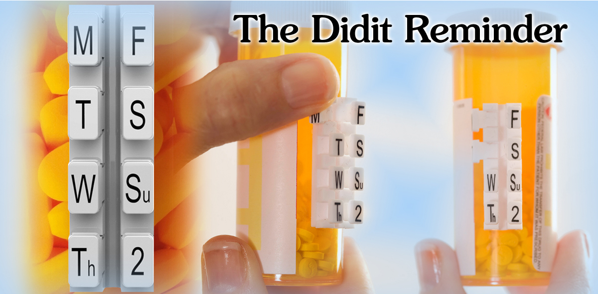 The simply and easy way to keep track of your doses.