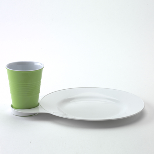 Green Melamine cup from Michaels