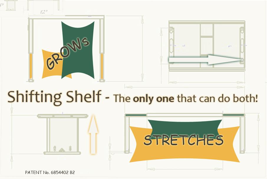 Adjust Shelf Height and Width