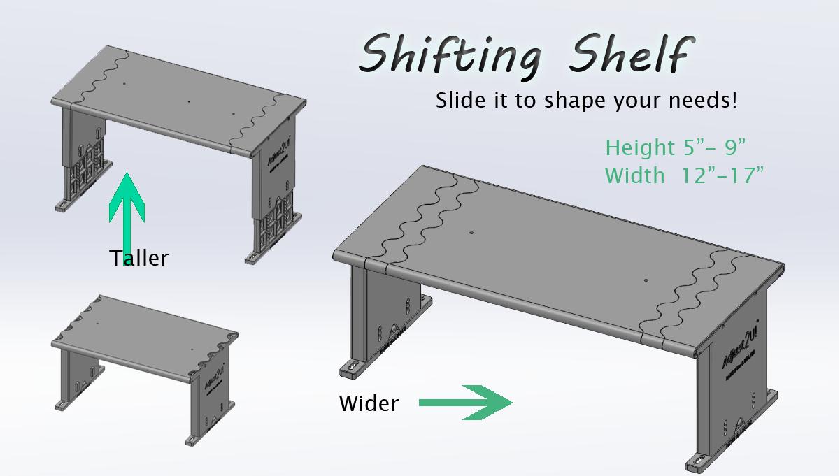 The Adjustable Shelf
